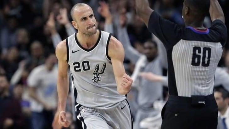 Basket NBA, ufficiale il ritiro di Manu Ginobili