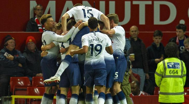 Manchester United-Tottenham 0-3: Lucas Moura e Kane calano il tris, per Mourinho è crisi nera