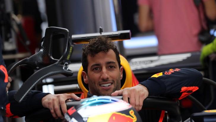 F1 Red Bull, Gp d'Italia in salita per Daniel Ricciardo
