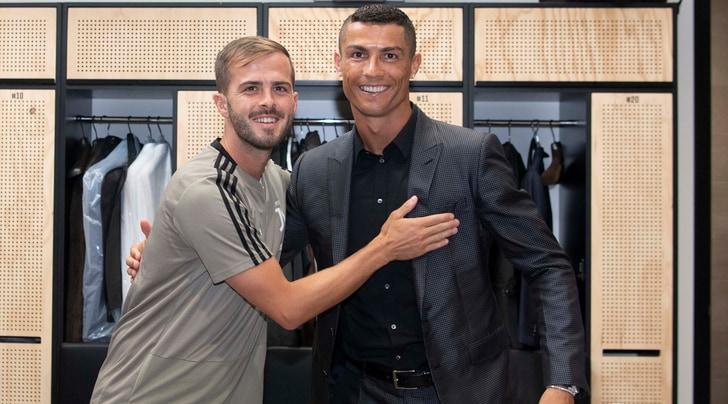 Pjanic: «CR7? È felicissimo di essere alla Juventus»