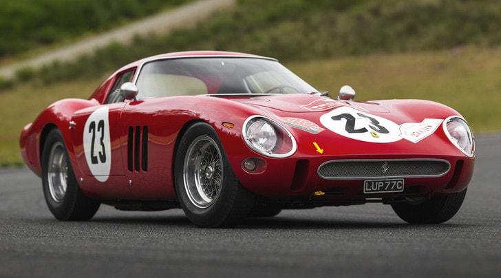 Ferrari 250 GTO da record: 48,5 milioni di dollari all'asta