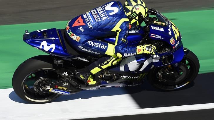 MotoGp Yamaha, Rossi sui test a Misano: «Abbiamo lavorato molto»