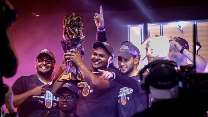 NBA 2K League: Knicks Gaming campioni