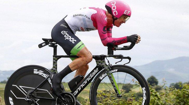 Vuelta, quinta tappa a Clarke. Molard nuovo leader