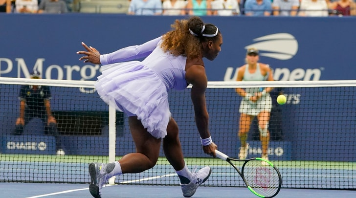 Us Open: avanza Serena Williams. Clamoroso ko per la Muguruza