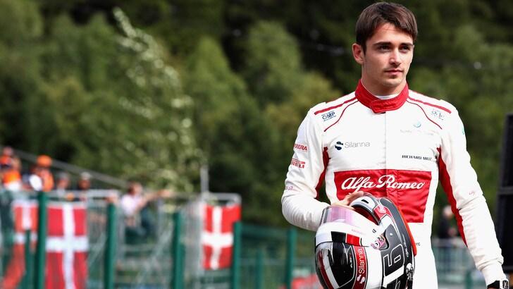 F1 Alfa Sauber, Leclerc: «In Italia ho più tifosi che a Montecarlo»