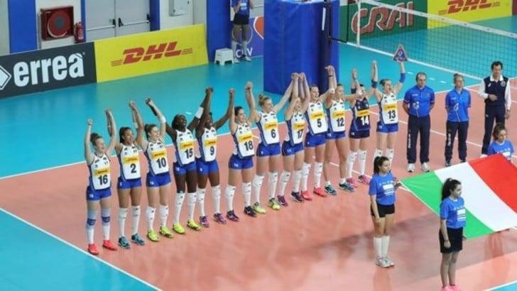 Volley: l'Italia Under 19 in campo sabato contro la Bielorussia
