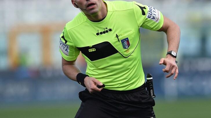 Serie B Carpi-Cittadella, dirige Illuzzi. Palermo-Cremonese: Nasca