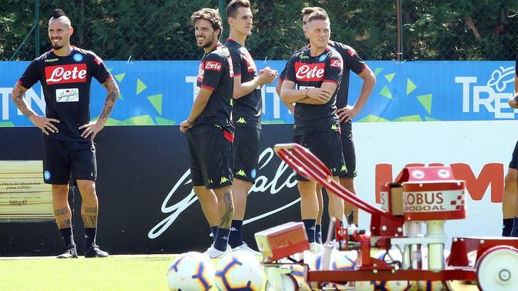 Serie A Napoli, Mario Rui torna con il gruppo