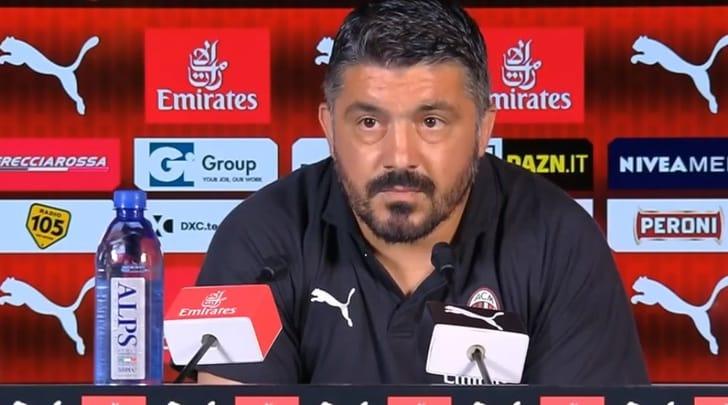 Milan, Gattuso: «Non massacrate Biglia, tatticamente è fondamentale»