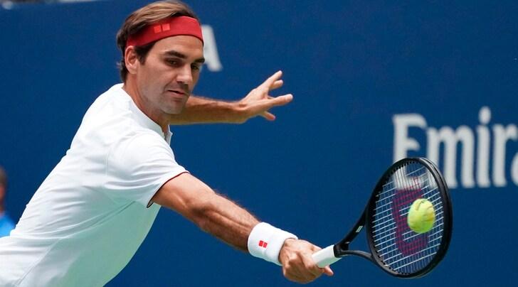 Us Open, Federer vola al terzo turno