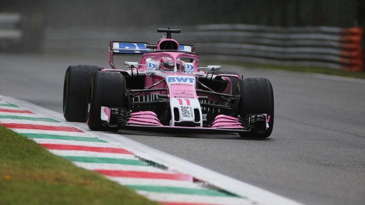 F1 Monza, Libere 1: Perez sorprende tutti, 17° Vettel