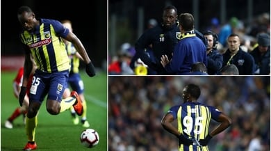 Bolt fa il suo esordio nel calcio: 20' e nessun gol, tifosi in delirio