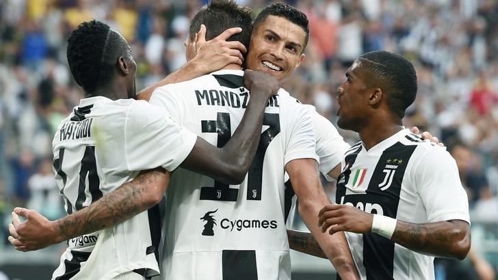 Serie A, Parma-Juve: terza vittoria di Allegri a 1,18