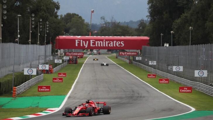 F1, Gp d'Italia diretta qualifiche ore 15