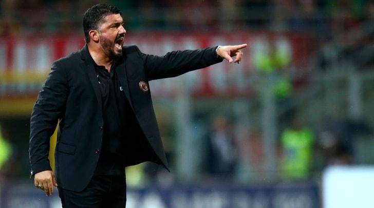Milan, Gattuso: «Higuain ci fa giocare bene»