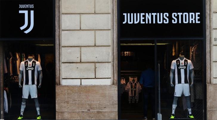Juventus, a Roma apre il primo store bianconero