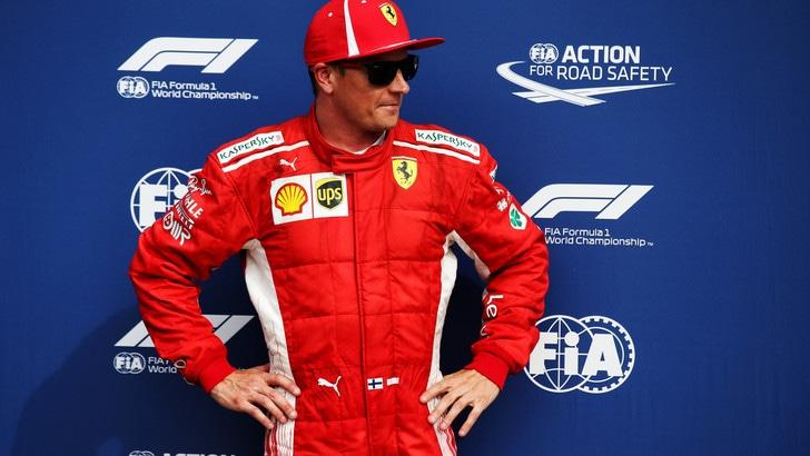 F1 Monza, Ferrari, Raikkonen: «Doppietta grandiosa ma siamo a metà»