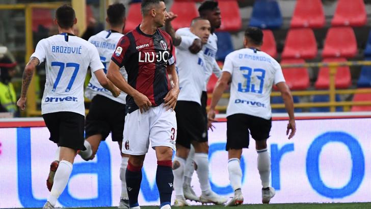 Serie A Bologna-Inter 0-3, il tabellino