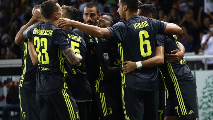Matuidi fa volare la Juventus: 2-1. Cristiano Ronaldo a secco anche a Parma