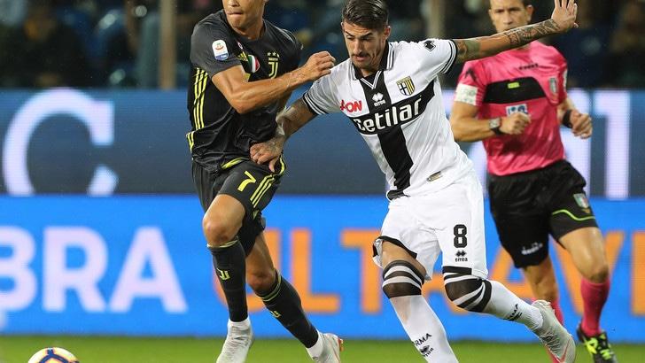 Serie A Parma, Deiola: «Dato tutto con la Juventus, ringrazio D'Aversa per la fiducia»