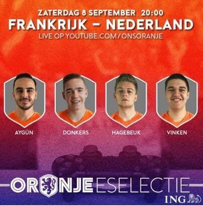 La nazionale olandese debutta negli esports