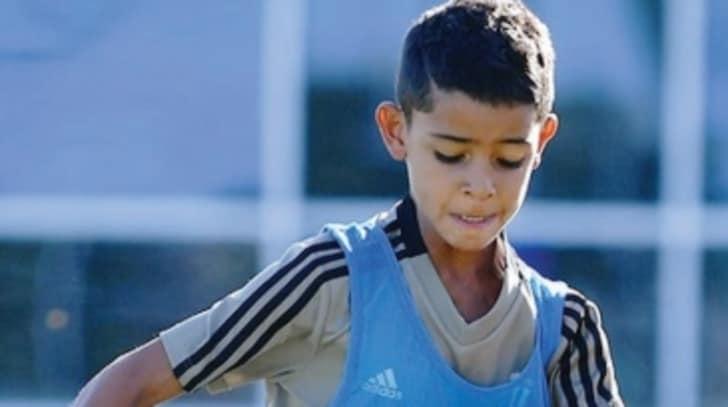 Ronaldo jr meglio del papà...ne fa quattro con la Juventus Under 9