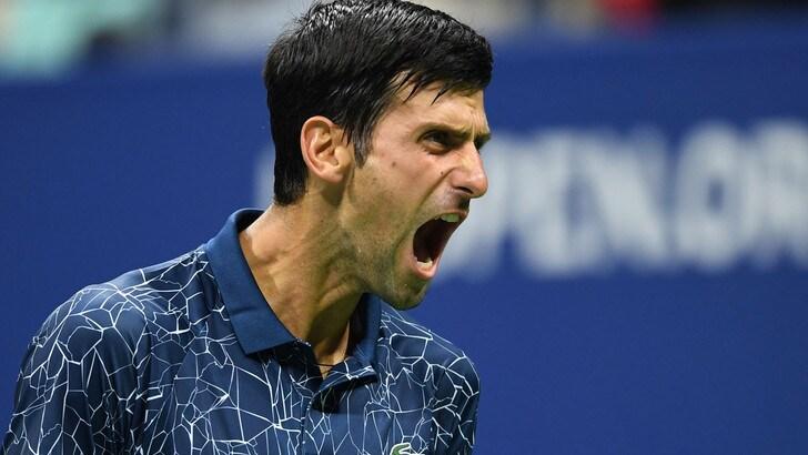 Us Open: Djokovic raggiunge Federer e Nadal, Zverev eliminato