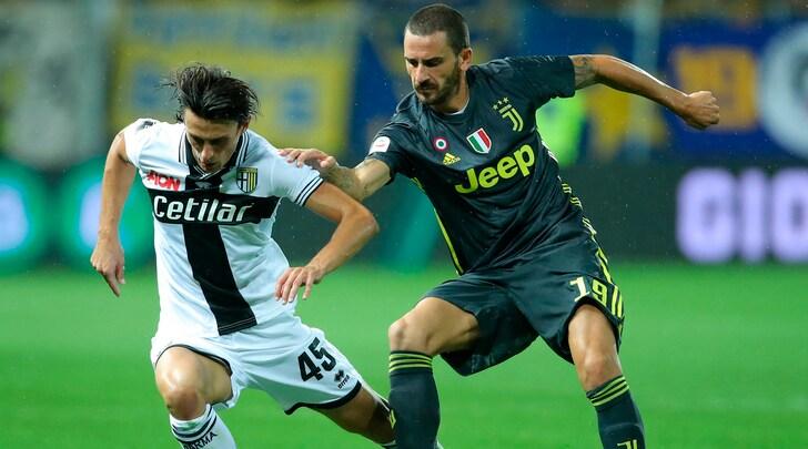 Juventus, Bonucci: «Era importante arrivare con 9 punti alla sosta»
