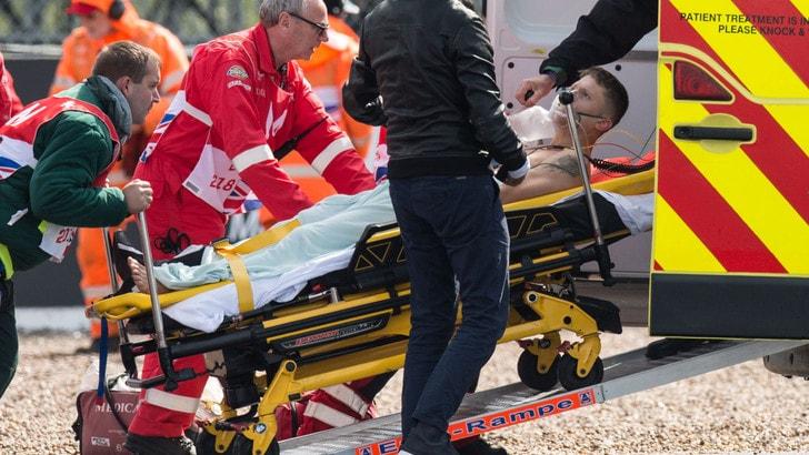 MotoGp Avintia, complicazioni per Rabat dopo l'incidente a Silverstone