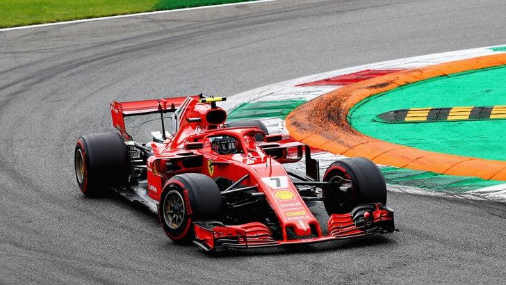 F1 Monza, Raikkonen: «Ci ho provato ma era impossibile alla fine»