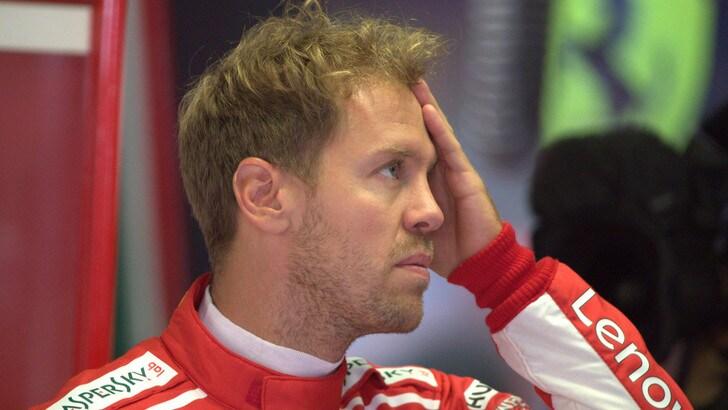 F1 Monza, Vettel: «Hamilton ha avuto fortuna, io sfortuna»