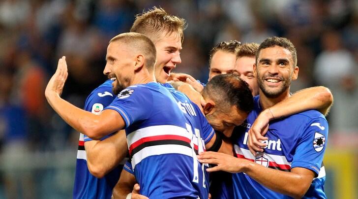 Serie A, Sampdoria-Napoli 3-0: Defrel e Quagliarella show