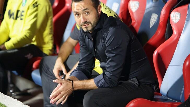 Serie A Sassuolo, De Zerbi: «Non dobbiamo pensare alle nostre qualità, ma ai limiti»