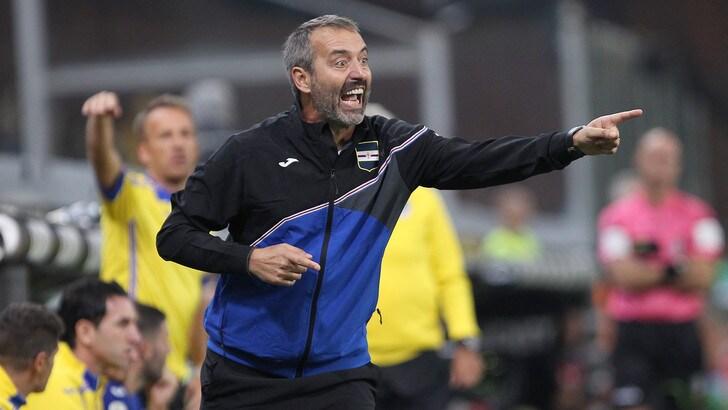 Serie A Sampdoria, Giampaolo: «Partita dai grandi contenuti stasera»