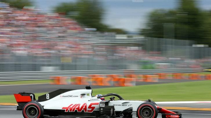 F1 Monza, Grosjean squalificato, Haas irregolare
