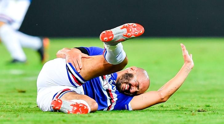 Serie A Sampdoria, per Saponara lesione muscolare