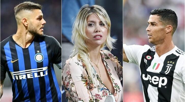 Wanda:«La Juve voleva Icardi. Farà più gol di Cristiano Ronaldo»