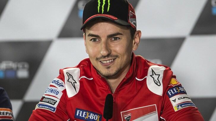 MotoGp Ducati, Lorenzo: «Essere compagno di Marquez è una nuova sfida»
