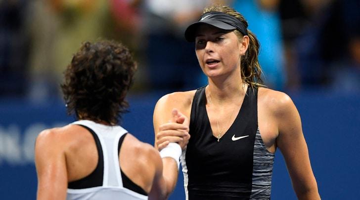 Us Open: Suarez Navarro elimina la Sharapova
