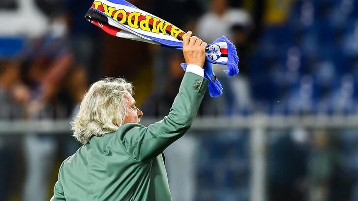 Serie A Sampdoria, Ferrero: «De Laurentiis? Perdere a Genova fa pensare»
