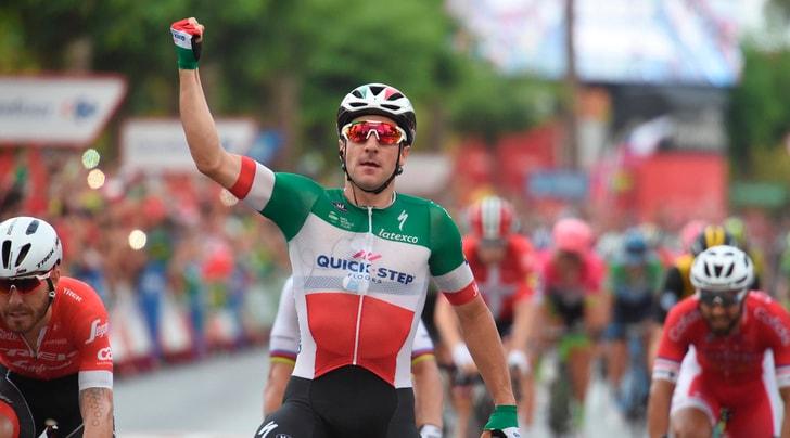 Vuelta, Viviani vince in volata la decima tappa