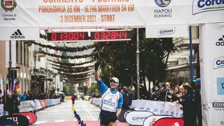 Alla Sorrento Positano Ultramarathon 54km già confermato Stefano Velatta