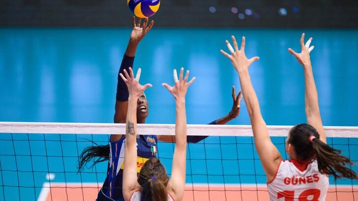 Volley: Torneo di Montreux, l'Italia ko con la Turchia