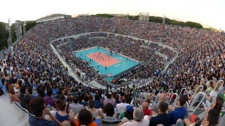 Volley: Mondiali 2018,  Italia-Giappone si gioca al Foro Italico