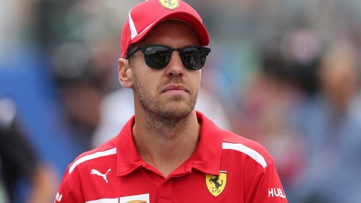 F1 Ferrari, Vettel: «Ora competo contro tre vetture»