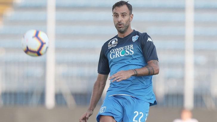 Serie A Empoli, elongazione muscolare per Maietta