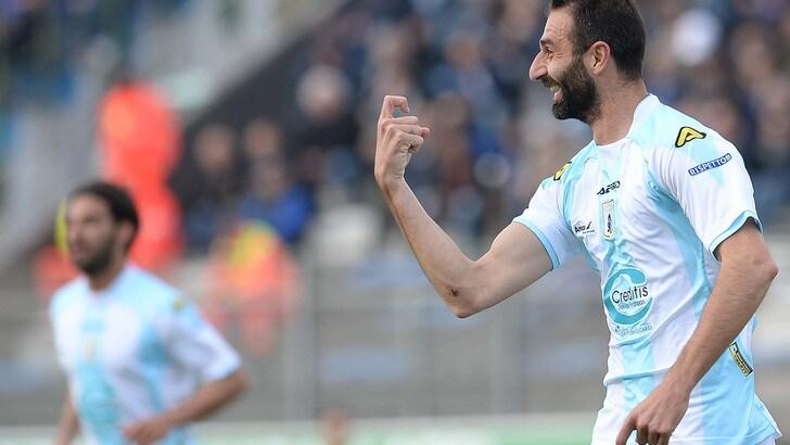 Calciomercato Ascoli, l'ex Entella Troiano è ufficiale