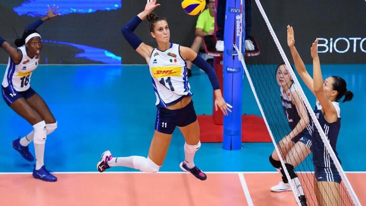 Volley: Torneo di Montreux, l'Italia cresce, Cina ko