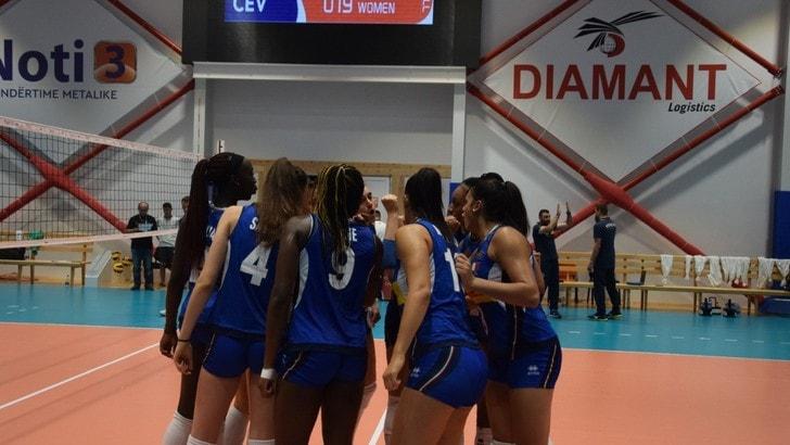 Volley: Europei Under 19 Femminili, l'Italia batte l'Olanda e va in semifinale